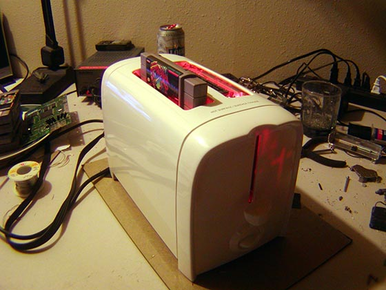 Photo of Super Nintoaster: A Super Nintendo Toaster (video)