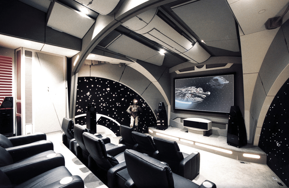 Photo of The Star Wars Home Theater To Rule Them All