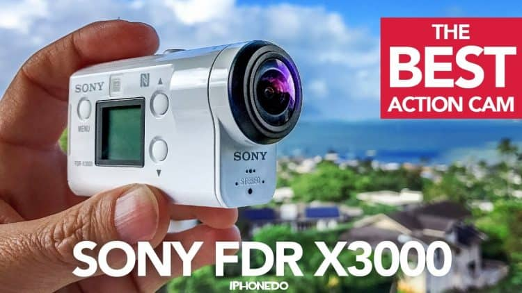 Sony FDRX3000 Underwater Camcorder White Review